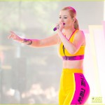 Iggy Azalea Performs on the Today Show Concert Series